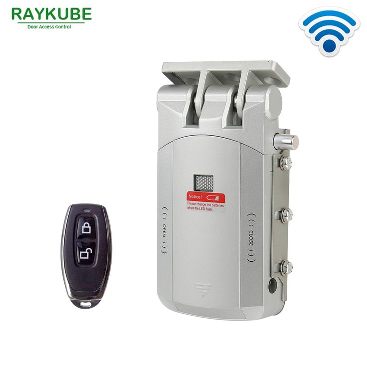 RAYKUBE Wireless Door Lock Electric Home Anti-theft Lock Security Lock For Home Office With Remote Control Opening R-W03 * AliExpress Affiliate's buyable pin. Click the VISIT button for detailed description on www.aliexpress.com #ElectricLocks