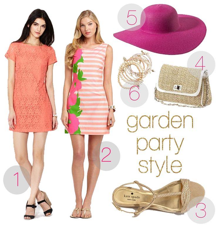 Garden Party Attire