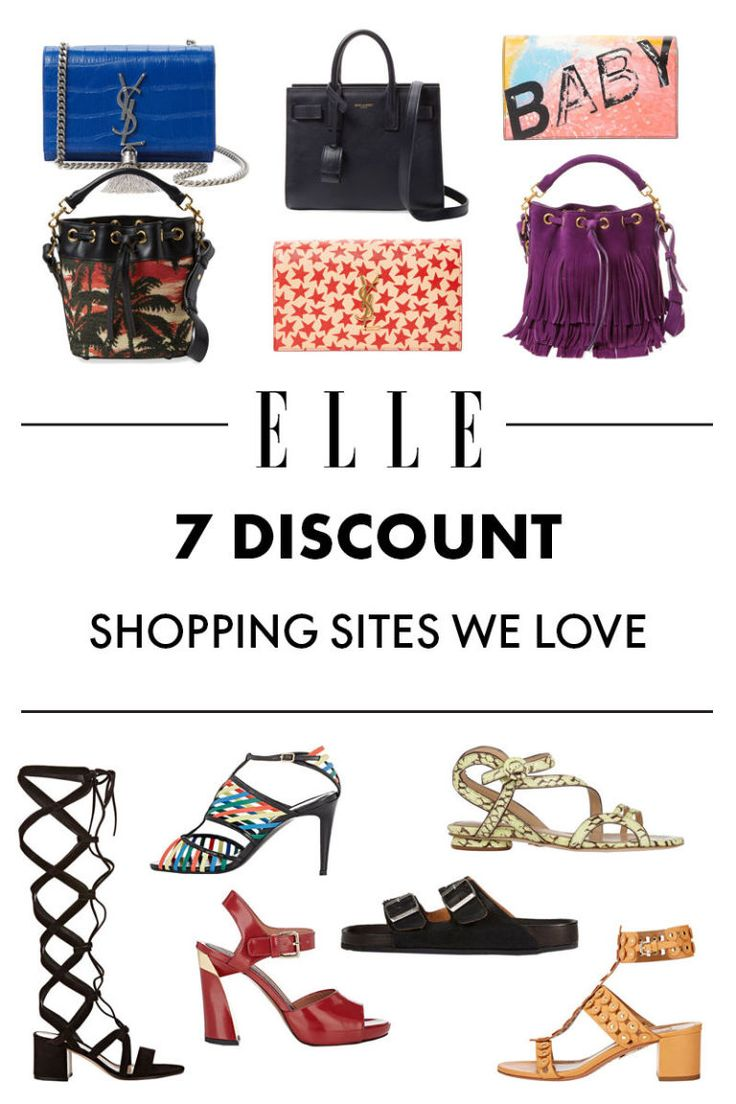 7 Discount Shopping Sites We Love (Plus the Best Things to Get On Each)   - ELLE.com