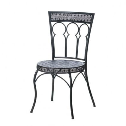 Moroccan Style Outdoor Patio Chair