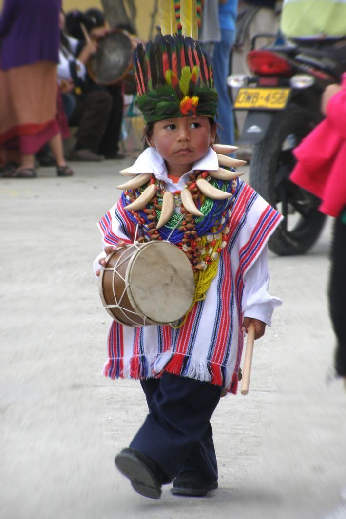 Niño de Sibundoy Putumayo - Colombia.
