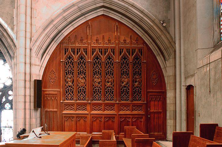 Case for Kilgen Organ, Op. 7517 (1951) in St. Nicholas of Tolentine Catholic Church - The Bronx, N.Y.