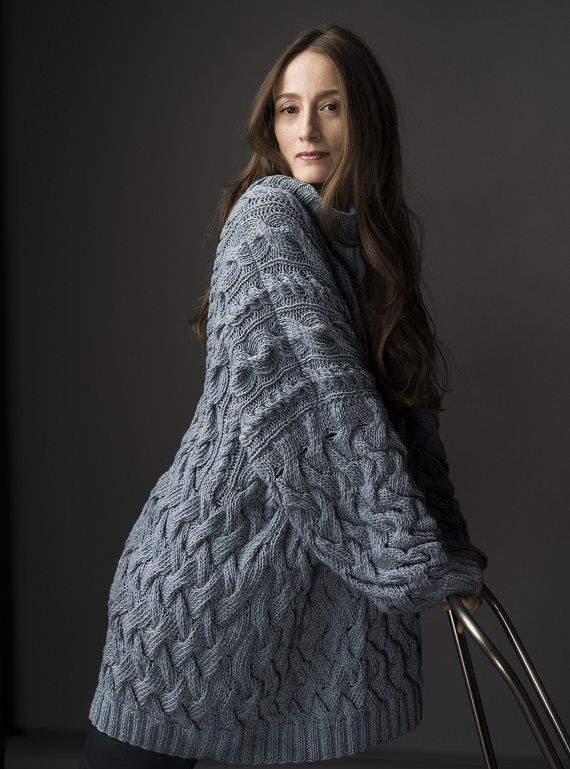 HANIA by Anya Cole Jay Sweater Fall/Winter 2015