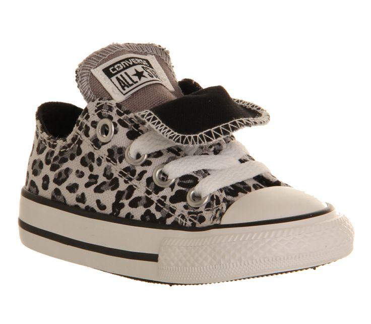 converse leopard print kids
