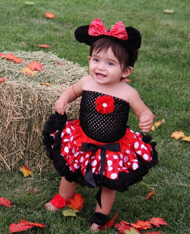 INFANT Little Minnie Mouse Halloween Costume