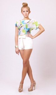 Mila Shorts in Ivory  http://www.wrato.com/content/mila-shorts