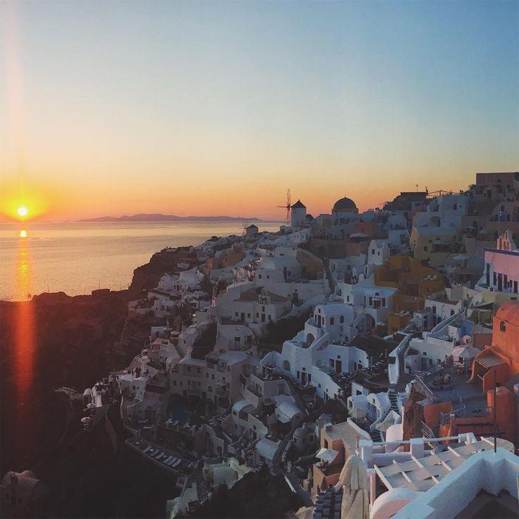 "LEILANI KRIENKE on Instagram: ""Definitely going to miss this view. But it's good to be home! 🇬🇷🇦🇺#homesweethome #travel #greece #oia #santorini #australia #posthoneymoon…"""