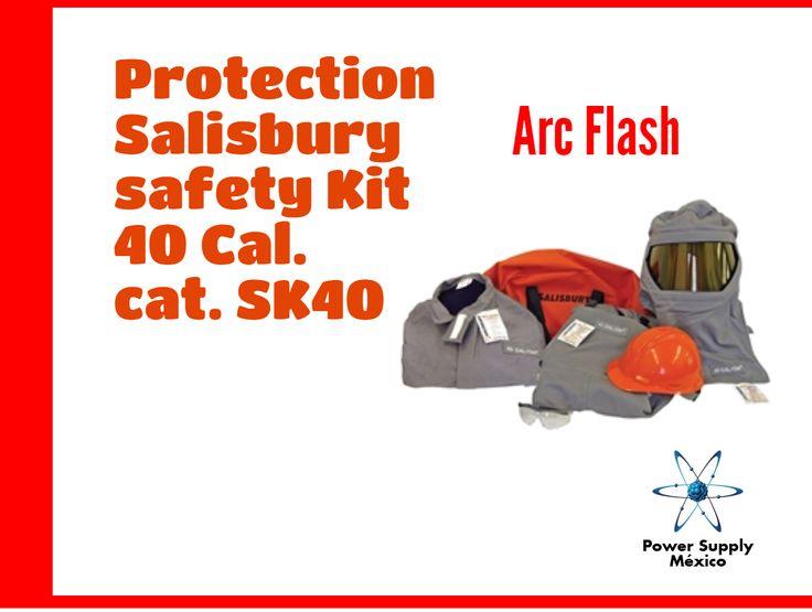 Para que siempre te sientas seguro 🚧💡🔦⚠🔌🌩⚡ #kit #proteccion #sentir #seguidad #salisbury #electricidad #arc #flash #lentes #casco #maleta #overol #mecadeo #marketing