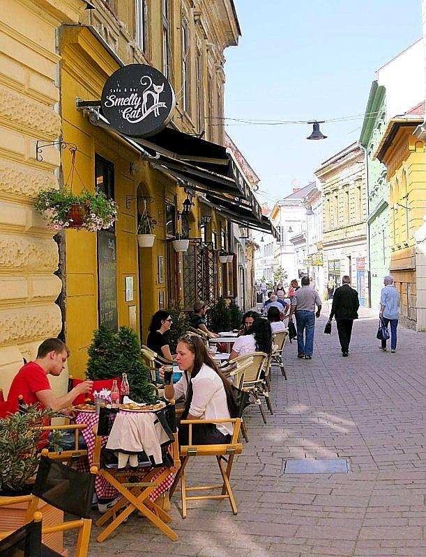 Kosice, Slovakia in spring