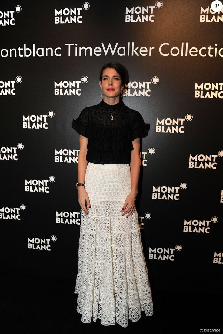 "beautifulcharlotte: ""Charlotte Casiraghi attends the Montblanc Gala Dinner At Brasserie Des Halles as part of the SIHH January 16, 2017 in Geneva, Switzerland. """