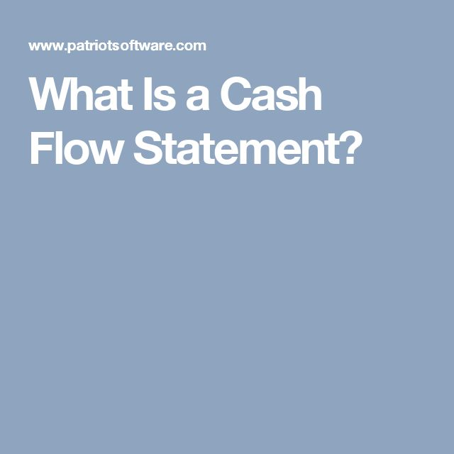Mer enn 25 bra ideer om Cash flow statement på Pinterest - cash flow statements
