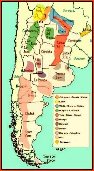 Pueblos originarios de Argentina
