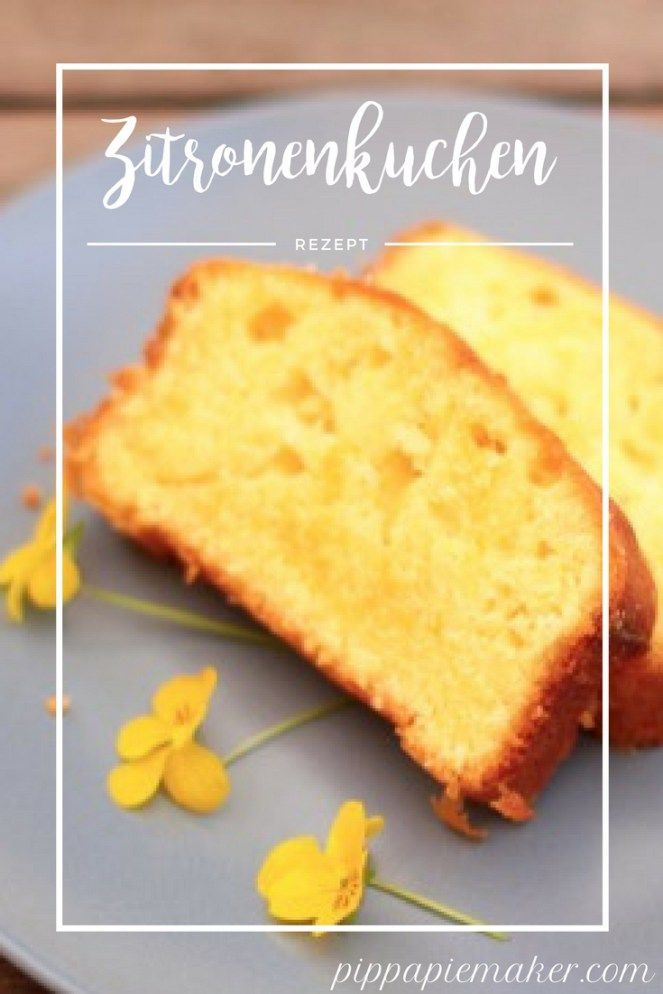 Rezept für einen saftigen Zitronenkuchen. Dieser Kastenkuchen ist nicht zu süß, schmeckt richtig nach Zitrone und ist ein perfekter Sommerkuchen. Er eignet sich auch perfekt zum mitnehmen fürs Picknick oder Kuchenbuffet.
