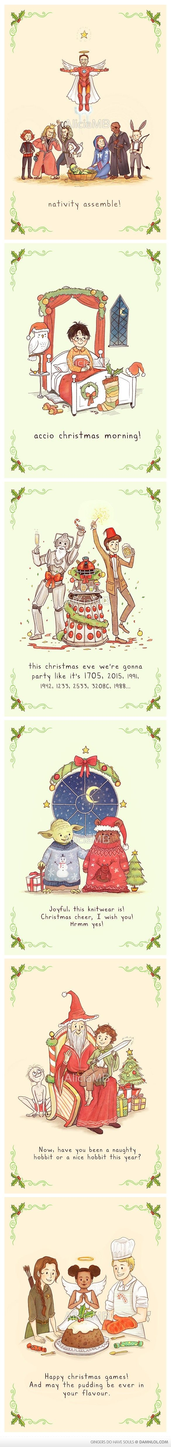 Christmas Cards for all your nerdy friends :)