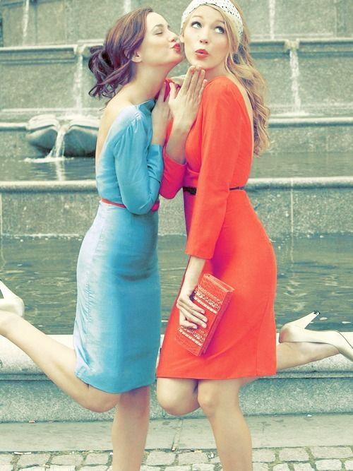 Gossip Girl. Blake Lively & Leighton Meester. Serena van der Woodsen &