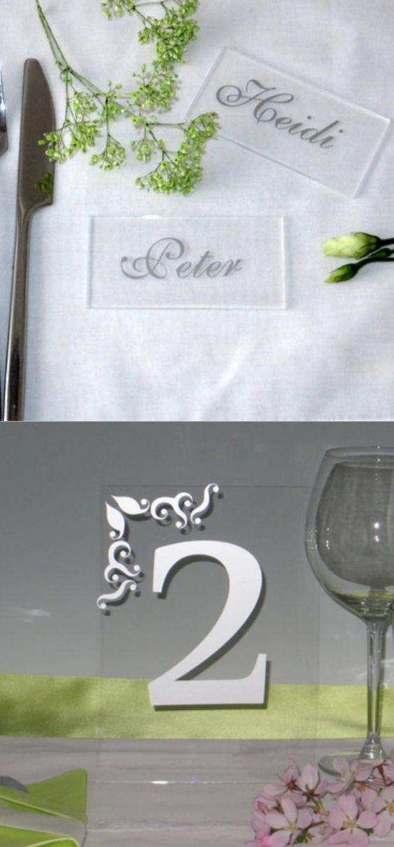 Kleinigkeiten Wie Diese Trendy Acrylschilder Machen Eine Hochzeit