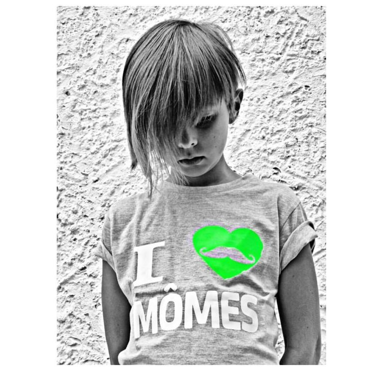 """Her game is strong!💚💚💚 So so rad petite Olivia from France rocking her """"I 💚 MÔMES"""" tee! Amazing pic! Merci @teadogrocknroll 