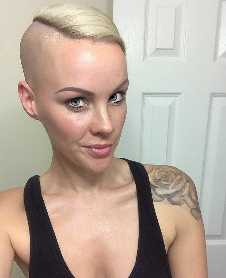 hair Flickr women shaved