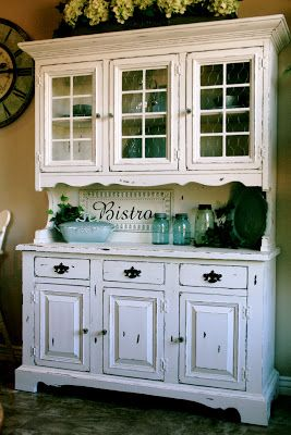 Little Bit Of Paint Vaseline Method Refinishing Furniture This Is My China Hutch