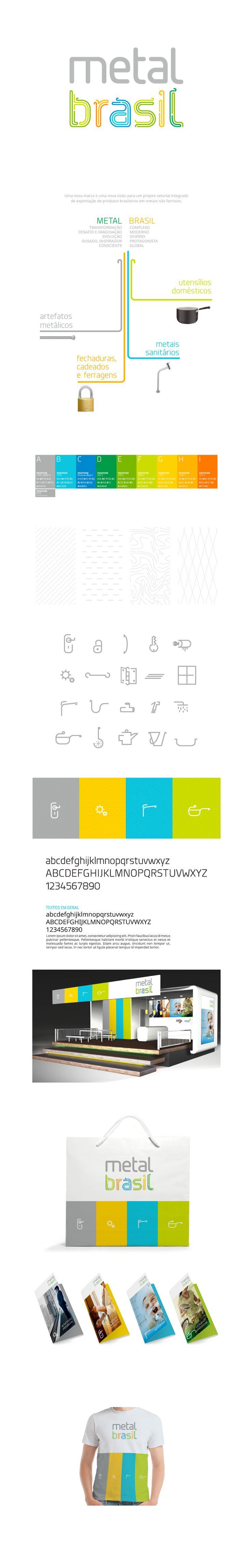 Uma nova marca e uma nova visão para um projeto setorial integrado de exportação de produtos brasileiros em metais não ferrosos.  Esta iniciativa de promoção no exterior é de realização de Siamfesp e Apex Brasil, que demandaram o reposicionamento da marca.