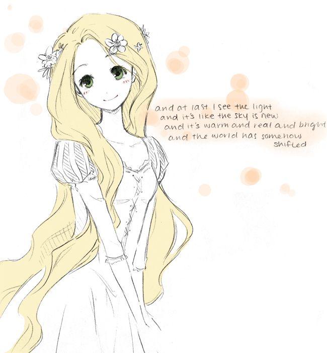 So cute! Rapunzel