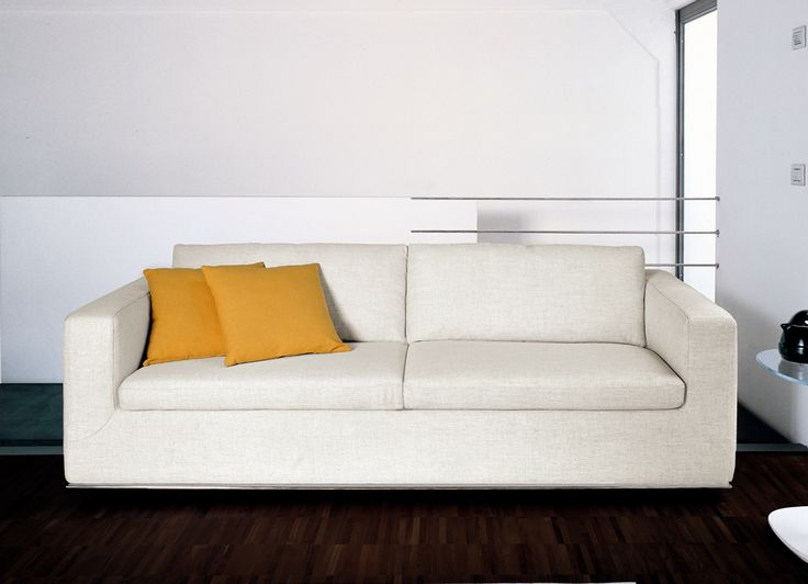 The Bonaldo Boston Contemporary Sofa Bed Has A Solid Wood Frame U0026 Cushions  Filled With A Feather Mix. The Easy To Fold Out Bed Consists Of An  Electro Welded ...