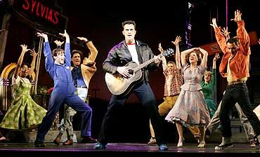 All Shook Up Costumes/Set in