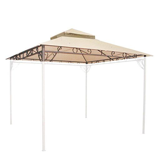 10u0027x10u0027 Waterproof Gazebo Top 2 Tier Replacement UV30+ Outdoor Yard Canopy Cover #  sc 1 st  Pinterest & Best 25+ Waterproof gazebo ideas on Pinterest | Pergola ...