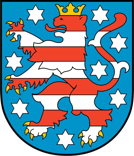 Coat of arms of the Free State of Thuringia