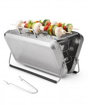 Portable Briefcase BBQ Grill for Father;s Day Gift Ideas