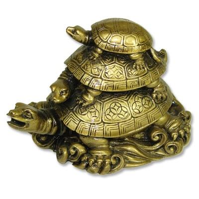 Feng Shui Three Turtles