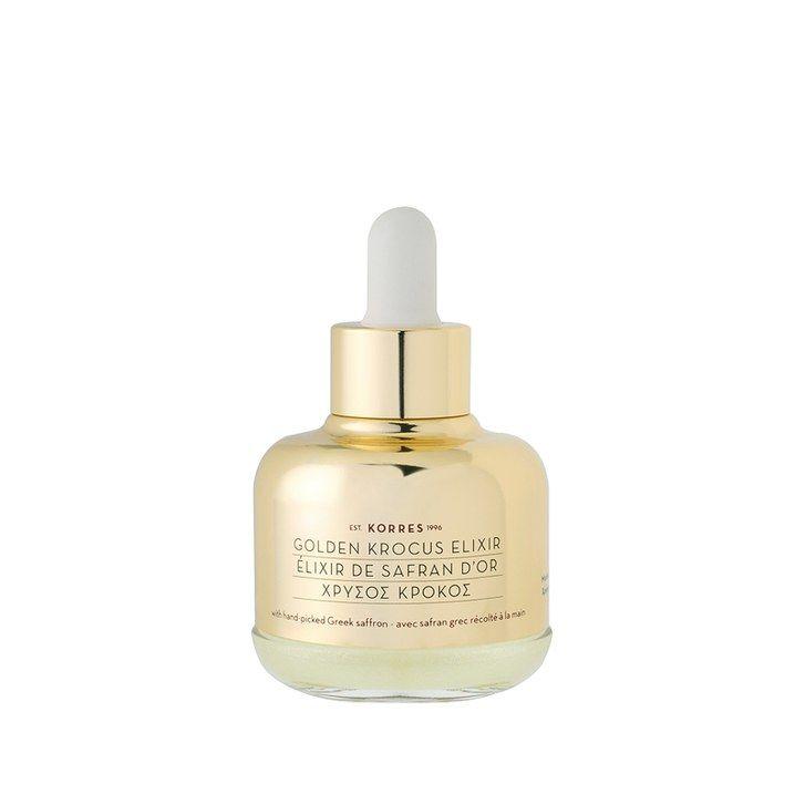 10 Natural Greek Beauty Products to Turn You Into a Goddess: Korres Golden KRoCus Ageless Saffron Elixir Serum | Allure.com