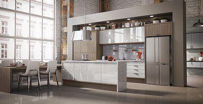 cozinha planejada italinea moderna