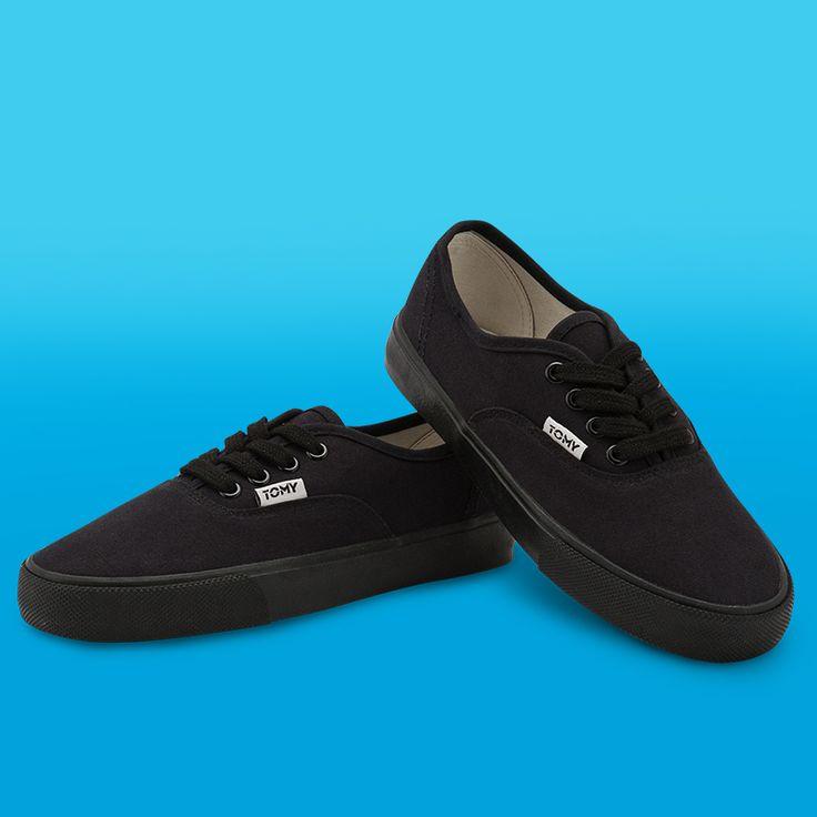 Tomy Classic Low Full Black