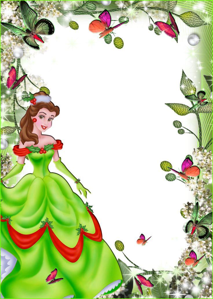 Imagens para photoshop: frames PNG fotos princesas disney #3