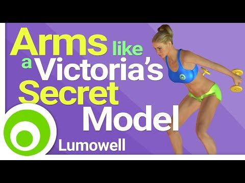 Arms Like a Victoria's Secrets Model Workout - 8 Minutes - YouTube