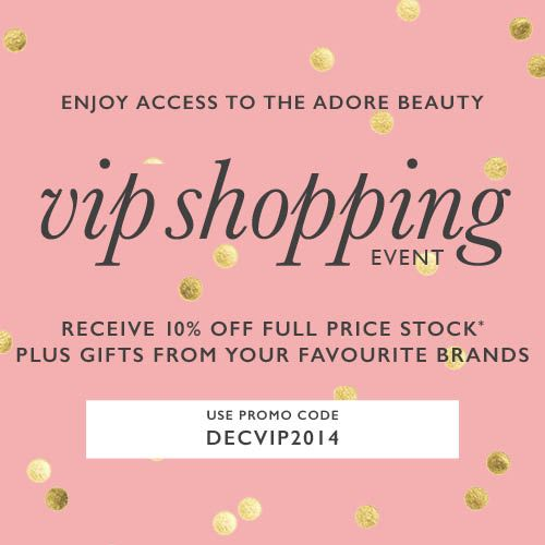Current Adore Beauty Coupons This page contains a list of all current Adore Beauty coupon codes that have recently been submitted, tweeted, or voted working by the community. Verified Site.