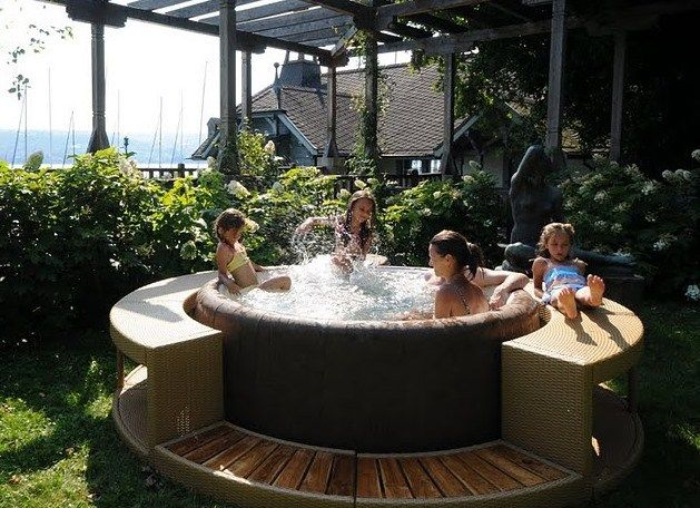 inflatable hot tubs advantages and