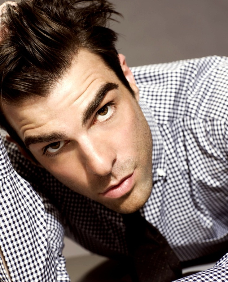 Zachary Quinto (best eyebrows ever!)