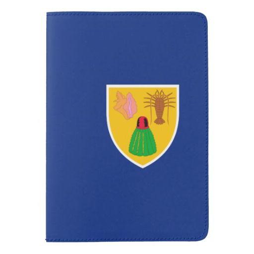 Turks and Caicos Islander flag Passport Holder