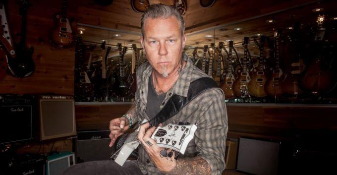 James Hetfield de Metallica en entrevista para Guitar Center [VIDEO]