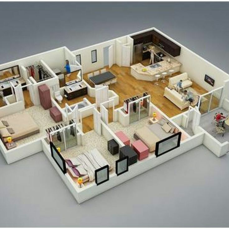 Doll House Plans Open Plan Doll Houses