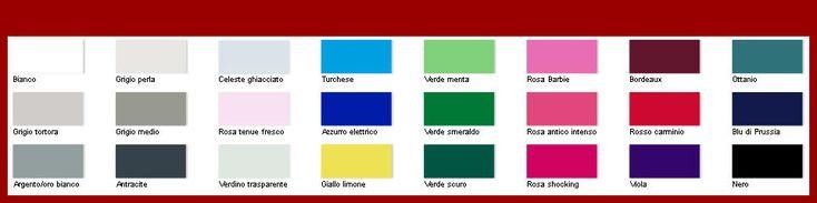 tipologia Audrey Hepburn   COLORI SÌ bianco, tortora, antracite, smeraldo, carminio, bordeaux, viola, blu scuro, nero. Metallo: argento/oro bianco.   COLORI NO beige caldo, giallo sole, arancio, ruggine, marrone medio, verde muschio e tutte le nuance dorate.