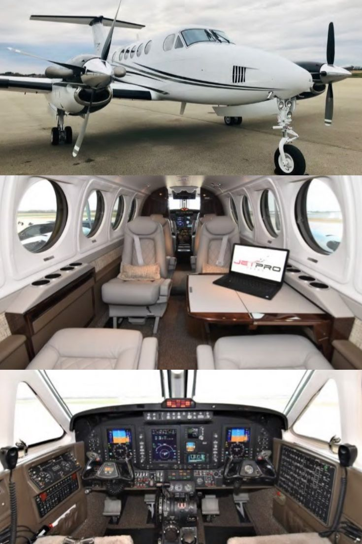 Beechcraft King Air B200 for Sale (With images) Airplane