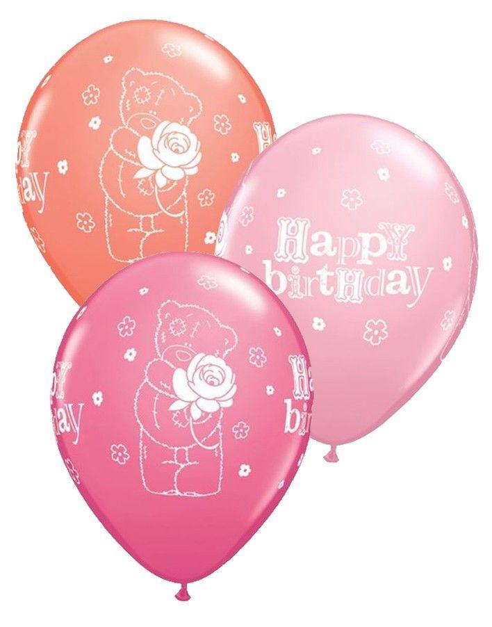 Letters In Latex%0A Tatty Teddy Happy Birthday      Latex Balloons   pk