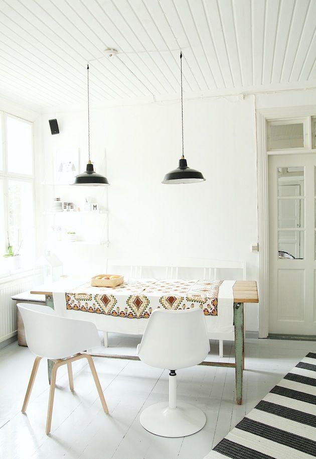 O design clean e minimalista é cada vez mais presente nas decorações da nossa década.