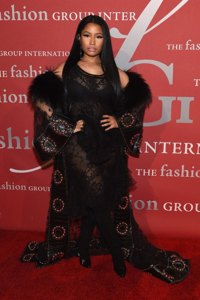 On the Scene: The 2016 Fashion Group International Night Of Stars Gala with Nicki Minaj and Joan Smalls in Givenchy, June Ambrose in Bibhu Mohapatra, and More!