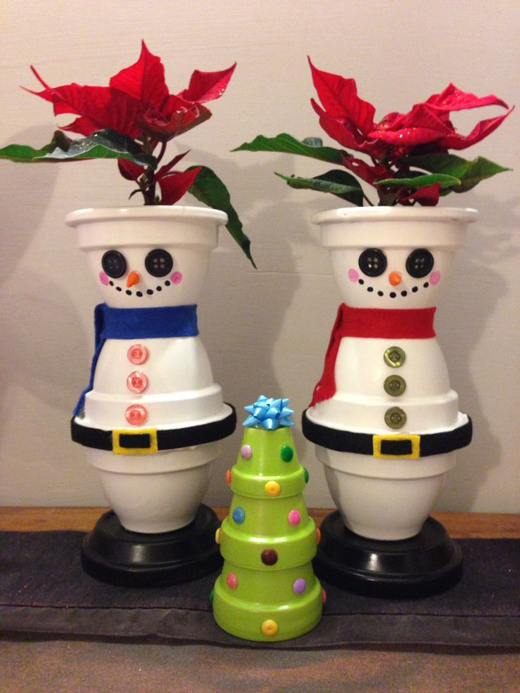 Christmas pots!