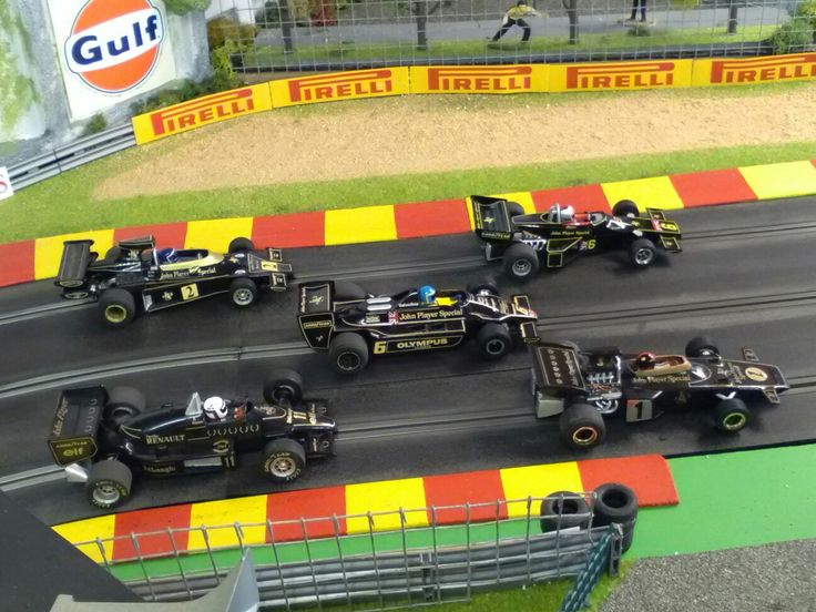 JPS Lotus Slot cars.