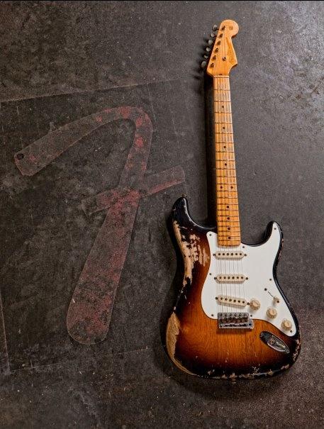 "1956 Heavy Relic® Stratocaster®    Beat Up Fender Strat"""